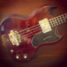 Gibson EBO short scale 1967 Cherry image