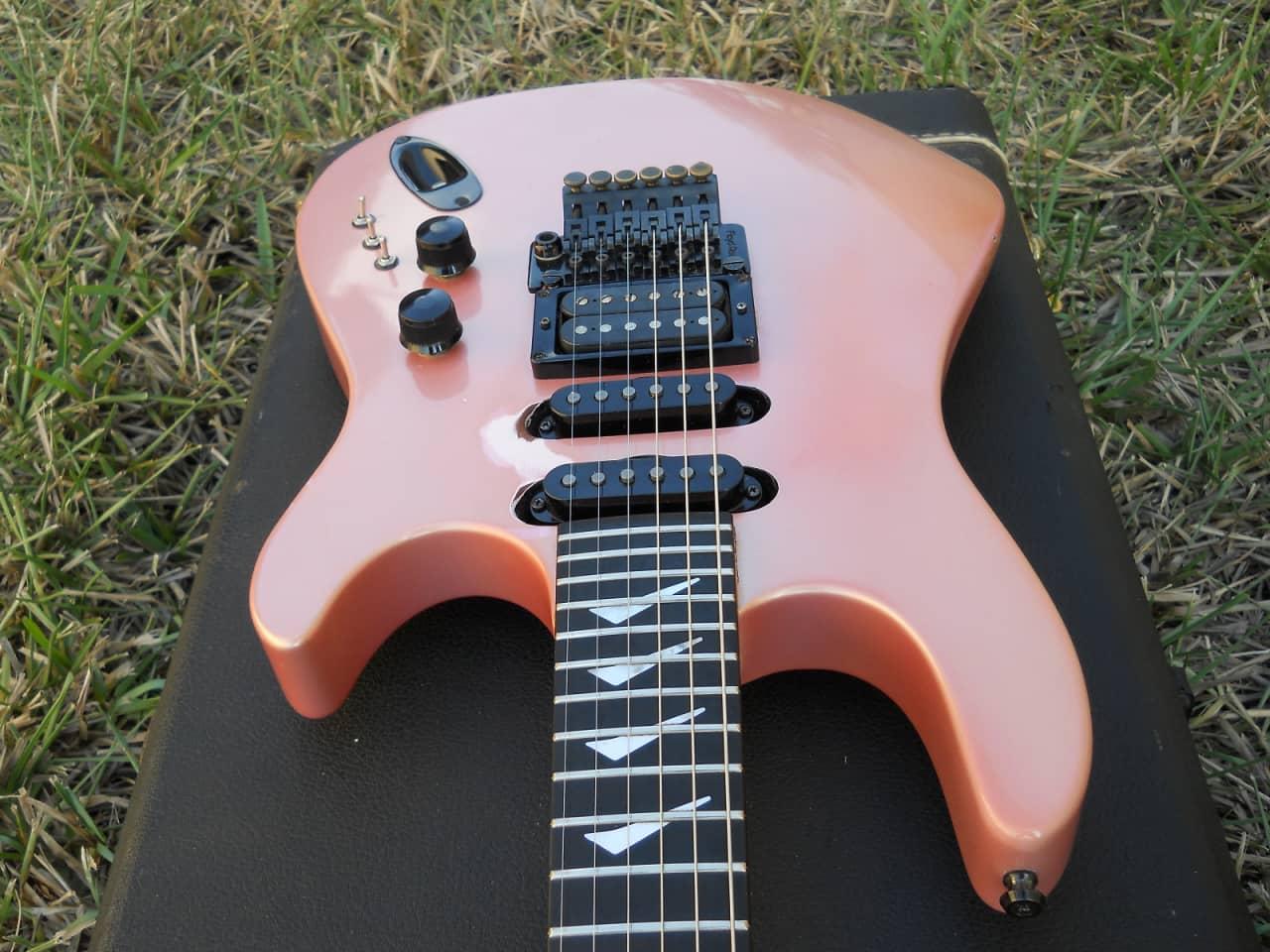 1986 Usa Hamer Chaparral Electric Guitar  Set Neck