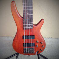 <p>Ibanez SR506 Six-String Electric Bass with Nordstrand Big Singles Pickups, Noll TCM-3 Preamp &amp; OHSC</p>  for sale