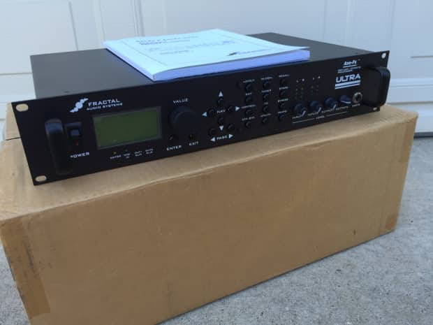 fractal audio axe fx ultra guitar preamp mint in box used reverb. Black Bedroom Furniture Sets. Home Design Ideas