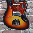 Vintage 1965 Fender Jaguar Electric Guitar Sunburst w/OHSC, EXC+ Condition! image