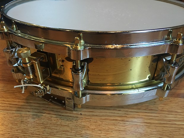 Yamaha 14 x 3 5 seamless brass piccolo snare 1981 for Piccolo prices yamaha