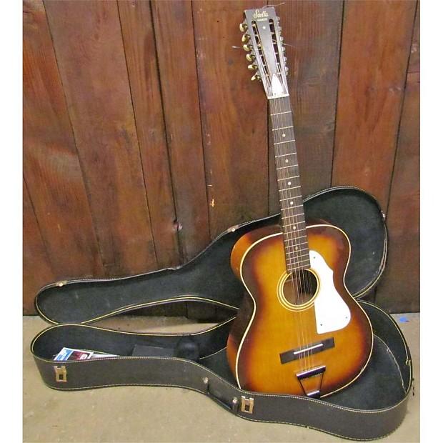 harmony stella 12 string guitar reverb. Black Bedroom Furniture Sets. Home Design Ideas