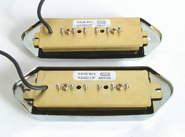 Eden Auto Sales >> Artec Alnico 5 P90 Soap Bar Dog Ear Pickup set Chrome   Reverb
