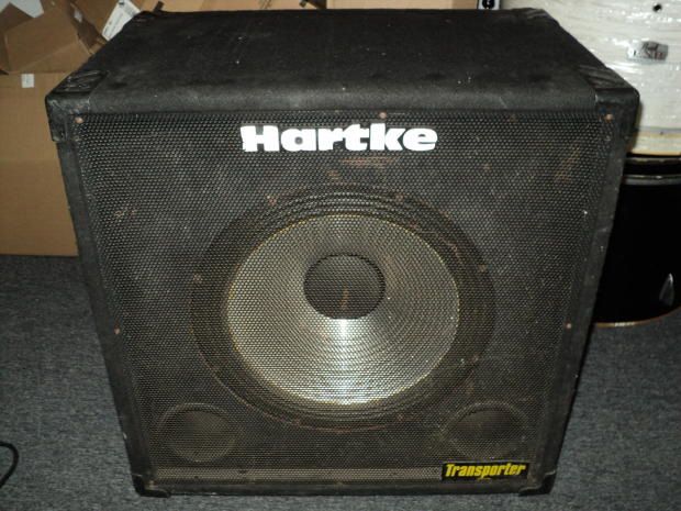 hartke 115tp transporter 1x15 electric bass guitar speaker cabinet reverb. Black Bedroom Furniture Sets. Home Design Ideas