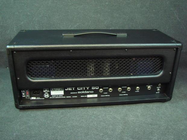 jet city jca50h guitar amplifier 50w tube amp head big price drop reverb. Black Bedroom Furniture Sets. Home Design Ideas