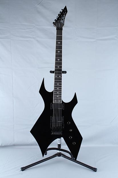 bc rich nj series warlock electric guitar black w floyd reverb. Black Bedroom Furniture Sets. Home Design Ideas