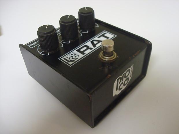 vintage proco whiteface rat distortion pedal w original box reverb. Black Bedroom Furniture Sets. Home Design Ideas