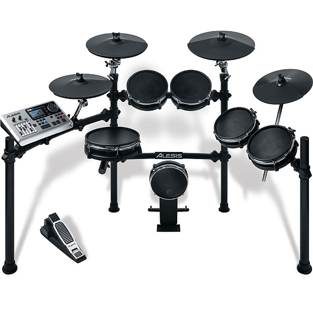 alesis dm10 studio mesh 6 piece electronic drum kit reverb. Black Bedroom Furniture Sets. Home Design Ideas