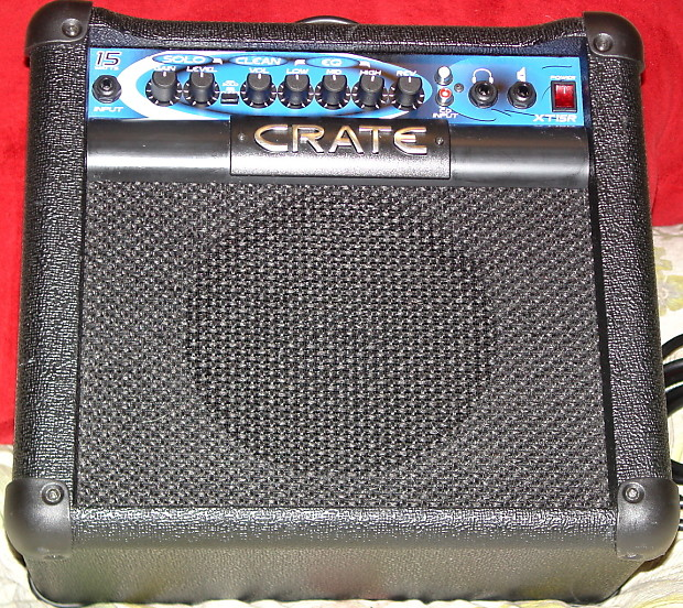 crate xt15r 15w amp 8 spkr clean solo reverb 3band eq reverb. Black Bedroom Furniture Sets. Home Design Ideas