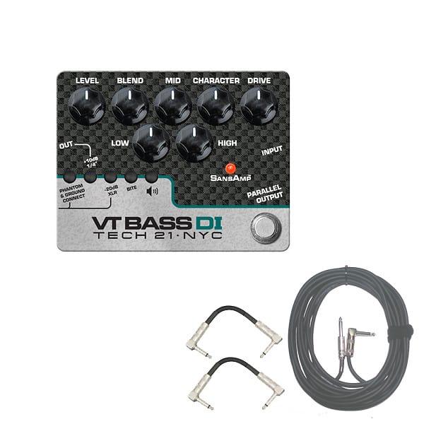 tech 21 vt bass di bass guitar tone pedal direct box w cables reverb. Black Bedroom Furniture Sets. Home Design Ideas