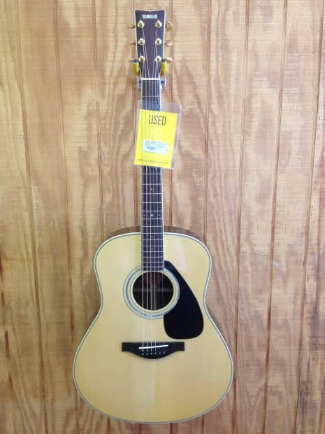 Yamaha l series llx6 dreadnought acoustic electric guitar for Yamaha l series guitars