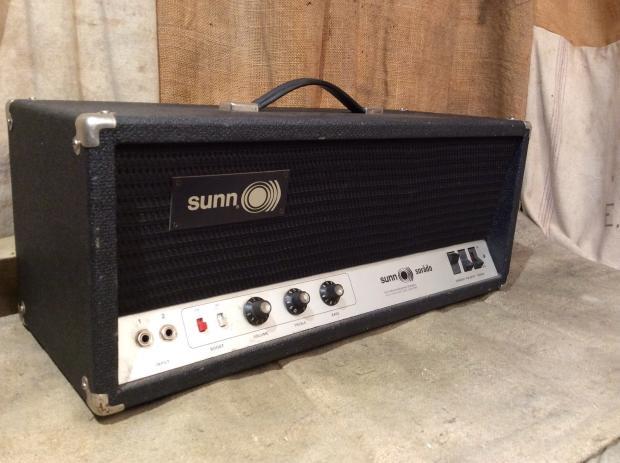 Sunn Sorado Amplifier Head Vintage Circa 1970 S Electric