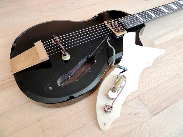 1958 silvertone artist vintage electric guitar supro rhythm reverb. Black Bedroom Furniture Sets. Home Design Ideas
