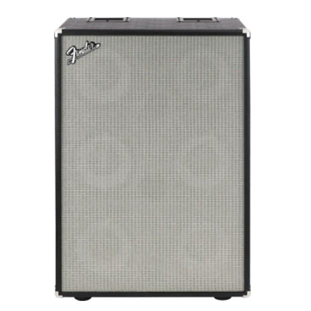fender bassman 610 neo cab bass guitar cabinet black reverb. Black Bedroom Furniture Sets. Home Design Ideas