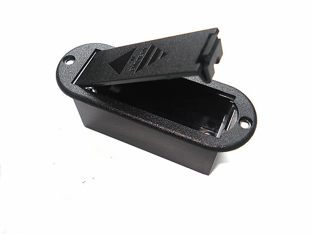 Electric Guitar Rounded 9 Volt Battery Box For Active Guitar | Reverb