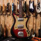 Vintage Rare Teisco Offset Japan guitar Norma Silvertone Kawai family image