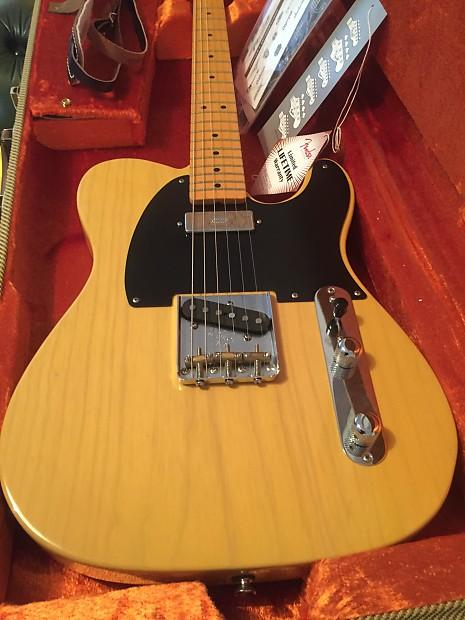 Fender American Vintage Hot Rod 1952 Telecaster - YouTube