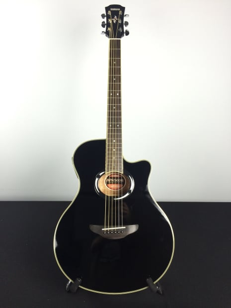 Yamaha apx 500 iii acoustic electric guitar black reverb for Apx guitar yamaha