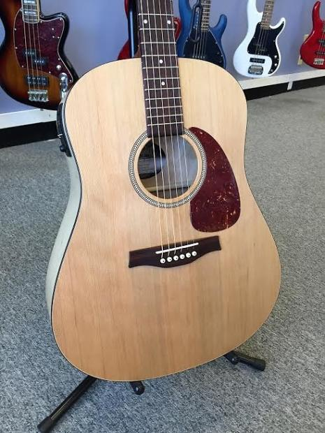 godin seagull acoustic electric dreadnought guitar with reverb. Black Bedroom Furniture Sets. Home Design Ideas