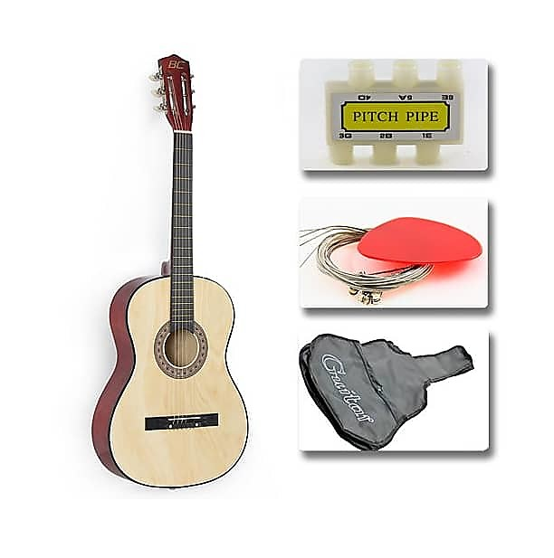 Guitar Accessories Combo : best choice products natural acoustic guitar with accessories reverb ~ Russianpoet.info Haus und Dekorationen