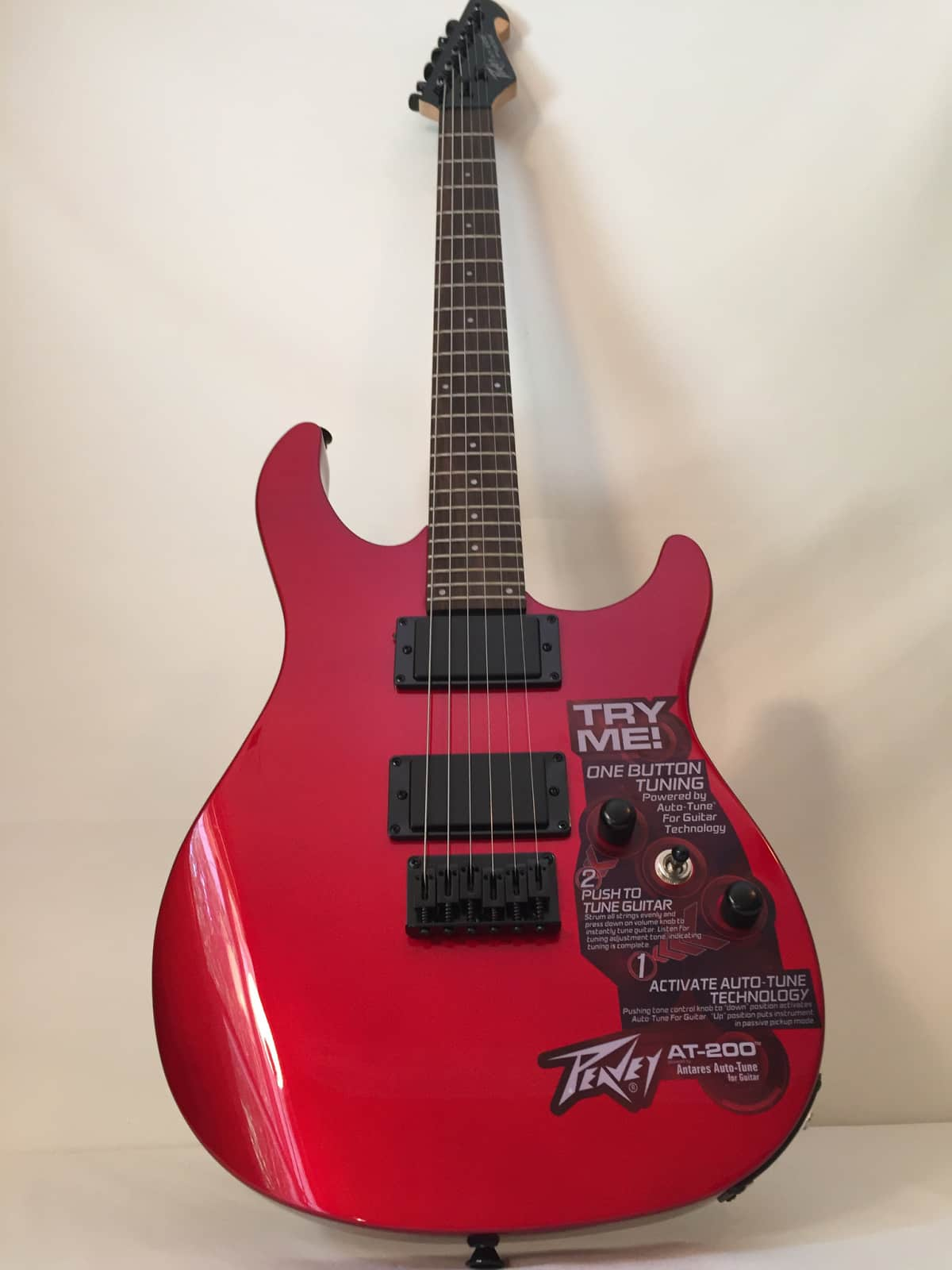 peavy at 200 automatic tuning electric guitar candy apple reverb. Black Bedroom Furniture Sets. Home Design Ideas
