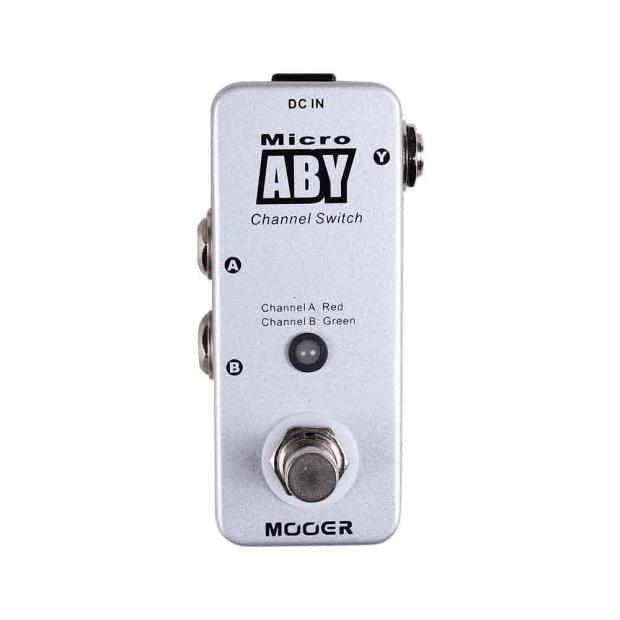 new mooer aby ab switch micro guitar pedal tuner w fender cables reverb. Black Bedroom Furniture Sets. Home Design Ideas