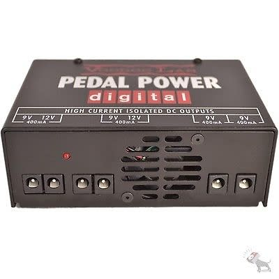 Voodoo Lab Pedal Power Digital 9V 12V DC DSP Effect Pedal Power Supply