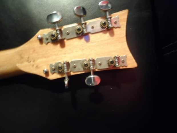 vintage kay sg 60 39 s 70 39 s red electric guitar for parts or reverb. Black Bedroom Furniture Sets. Home Design Ideas