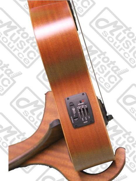 Luna guitars ukulele bass spruce tattoo reverb for Tattoo shops cape coral