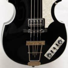 2013 Hofner Contemporary Series 500/1 Violin Bass, Black Finish, Clean & Beatle-y! image