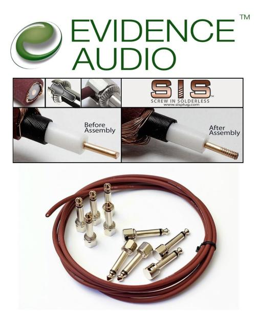 Evidence Audio Sis Solderless Patch Cable Kit 30 Plugs