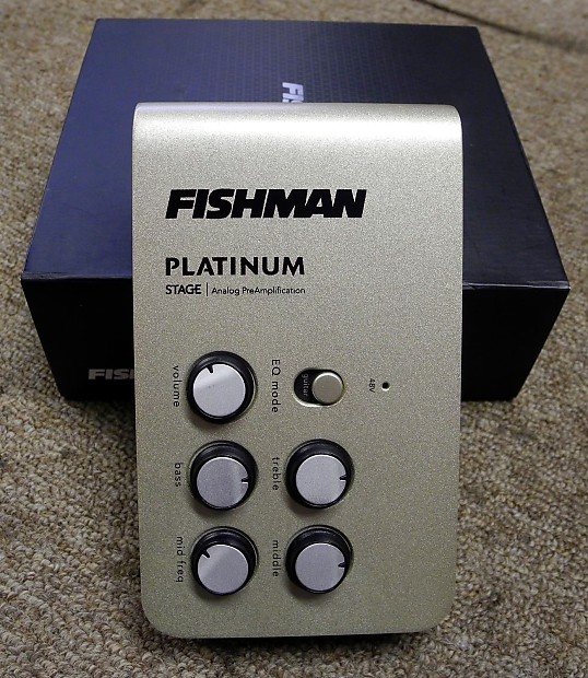 fishman platinum stage pre reverb. Black Bedroom Furniture Sets. Home Design Ideas