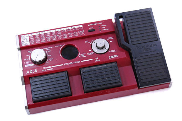 korg toneworks ax5b bass multi effects pedal reverb. Black Bedroom Furniture Sets. Home Design Ideas