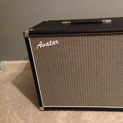 avatar 2x10 open back guitar cabinet 2012 reverb. Black Bedroom Furniture Sets. Home Design Ideas
