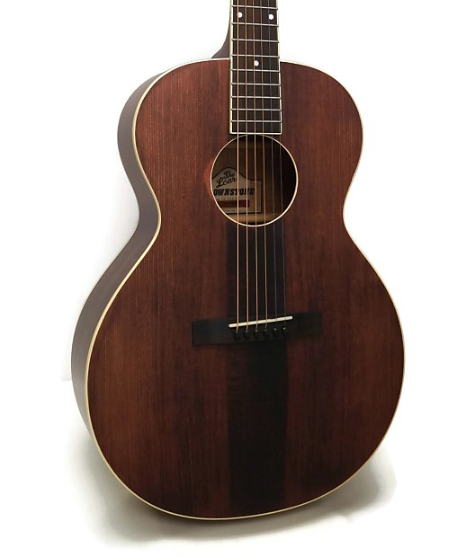the loar lh 204 br brownstone small body acoustic guitar reverb. Black Bedroom Furniture Sets. Home Design Ideas
