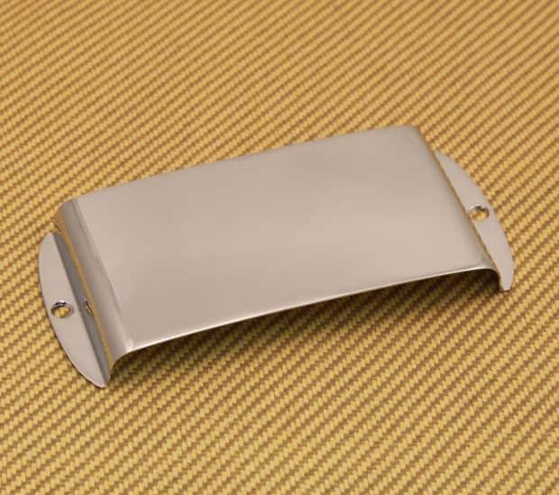 fender precision p bass chrome ashtray pickup cover w screws reverb. Black Bedroom Furniture Sets. Home Design Ideas