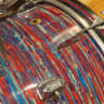 Ludwig 13/16/22 3pc Kit 1968 Psychedelic Red image