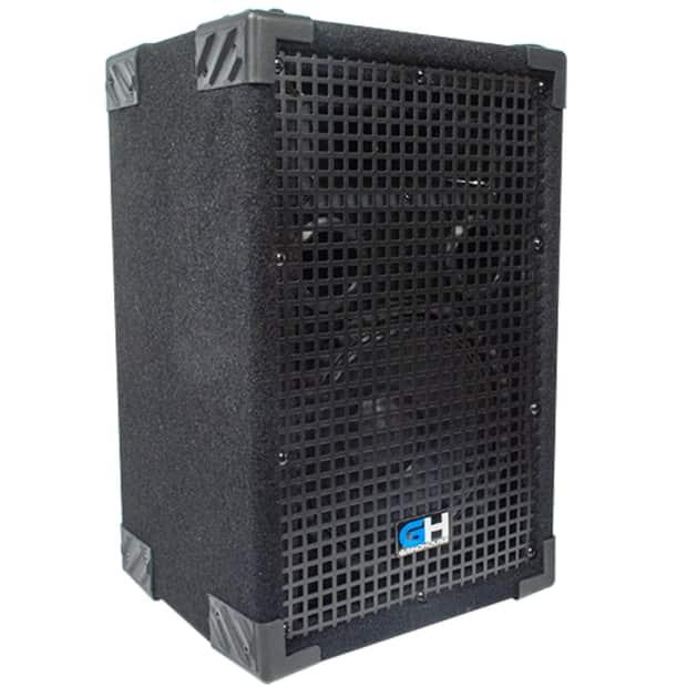 400w 8 inch passive full range pa speaker home dj karaoke reverb. Black Bedroom Furniture Sets. Home Design Ideas