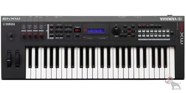 Yamaha mx49 49 key controller 16 part multi timbral and for Yamaha keyboard parts