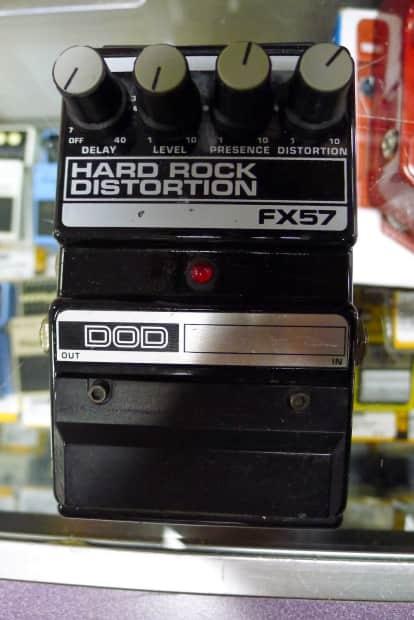 dod fx57 hard rock distortion delay guitar effect pedal usa reverb. Black Bedroom Furniture Sets. Home Design Ideas