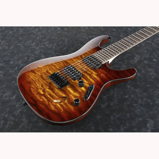 ibanez s621qm deb quilted maple top fixed bridge electric reverb. Black Bedroom Furniture Sets. Home Design Ideas