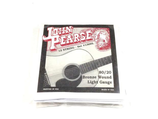 john pearse guitar strings 12 string set bronze wound. Black Bedroom Furniture Sets. Home Design Ideas