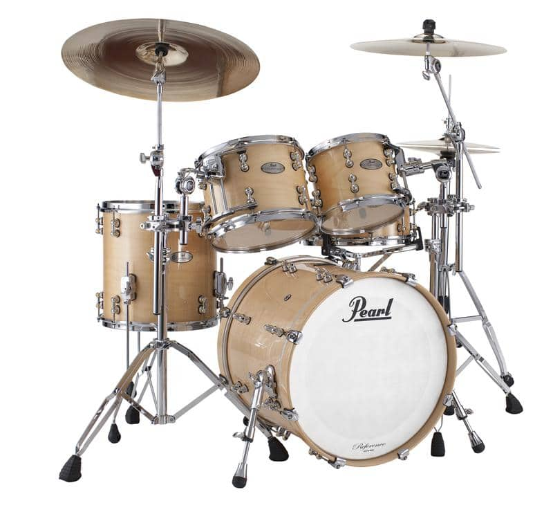 pearl reference pure 4 pc shell pack rfp904xp c102 natural reverb. Black Bedroom Furniture Sets. Home Design Ideas