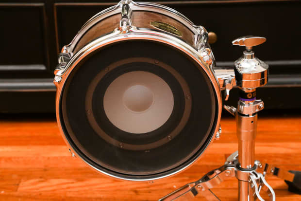 yamaha subkick skrm 100 sub kick bass drum dynamic microphone reverb. Black Bedroom Furniture Sets. Home Design Ideas