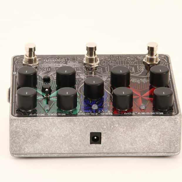 electro harmonix tone tattoo analog multi effects pedal