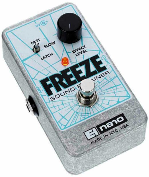 electro harmonix freeze infinite sustain pedal new with full warranty reverb. Black Bedroom Furniture Sets. Home Design Ideas