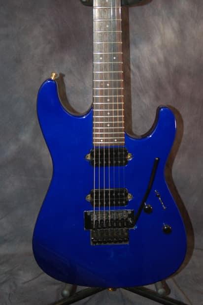Fender Squire Stagemaster 7 String 2003 Cobalt Blue New