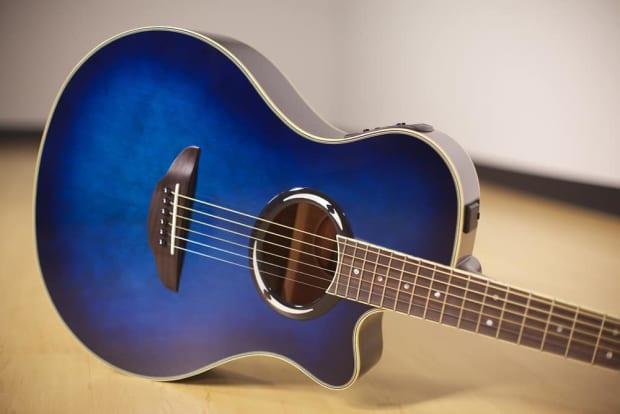 yamaha apx500iii thinline acoustic electric guitar blue burst reverb. Black Bedroom Furniture Sets. Home Design Ideas