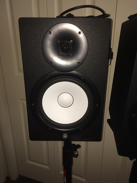 Price drop yamaha hs8 8 powered studio monitor pair for Yamaha hs8 price